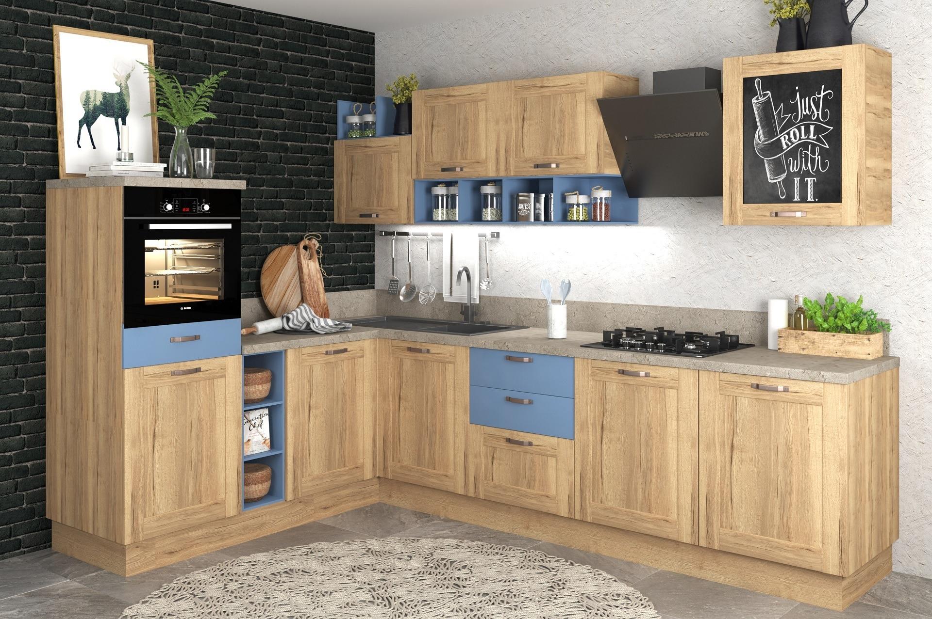 Кухня Ницца экоплита Эггер